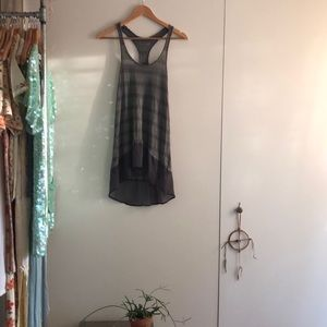 Vintage free people stripped tunic